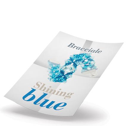Shining Blue Bracelet